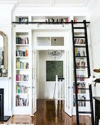 shelves around window home office traditional with built