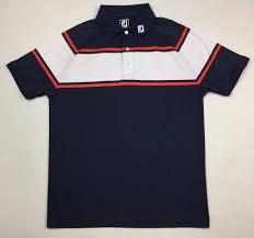 Footjoy Athletic Fit Golf Polo Shirt Mens Size Large