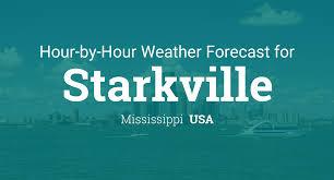 Starkville Water And Light Hourly Forecast For Starkville Mississippi Usa