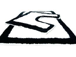 bathroom rug runner black and white bathroom rugs white bath rug black and white bathroom rug