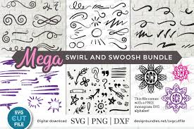 We'll help you find free icons for your web projects, apps, magazines, posters, advertising designs or in any other way. Swirls Svg And Swoosh Svg Bundle Flourish Svg Flourishes 361075 Cut Files Design Bundles
