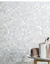 diflart seamless mother pearl shell square mosaic tile