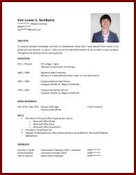 Resume Examples For Students With No Experience Best College Student Resume No Experience Kamenitzafanclub