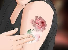 как сделать первую татуировку