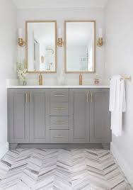 white bathroom cabinets with bronze hardware. 7 hot trends in bathroom design for 2015 white cabinets with bronze hardware t