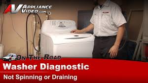 Washer Not Draining Or Spinning Washer Not Spinning Or Draining Repair Diagnostic Whirlpool
