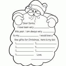 Santa List Template 10 Printable Santa Letter Template Free Download