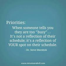 Busy Quotes Fascinating Moving On Quotes Priorities When Someone Tells You Are Too Busy