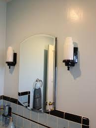 Kohler Bathroom Mirror 1940s Style Medicine Cabinet With Beveled Mirror Blue Tile