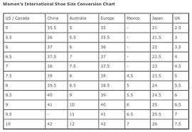 Shoe Size Conversion Chart Women Icyw Womens International Shoe Size Conversion Chart Flickr