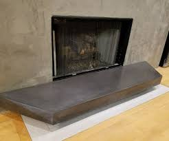 gfrc floating concrete hearth for concrete wood fireplace 7 steps with pictures