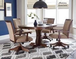 laminate top tables mocha finish 354260 laminate table 35718c caster swivel chair
