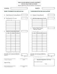 Opening Balance Sheet Template