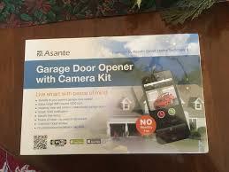 asante garage door opener with 150 share using facebook