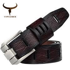 ซ อท ไหน designer men 100 good quality cowskin qenuine luxury leather belts for men strap metal pin buckle hip jeans belt drop ในประเทศไทย