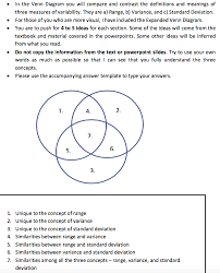 What Is The Meaning Of Venn Diagram Solved In The Venn Diagram You Will Compare And Contrast