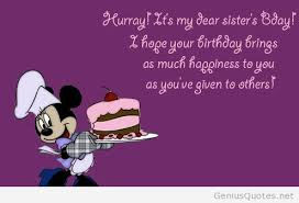 The best wishes on my sister birthday sister quotes via Relatably.com