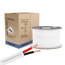 12awg cl2 rated two conductor in wall speaker cable 250 feet