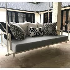custom outdoor glider porch swing cushion