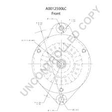 A0012500lc front dim drawing