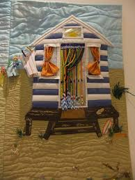 56 best Quilts with beach huts and seascapes images on Pinterest ... & Nice Murder Knitter: Pilgrimage To The NEC Quilt Show - Typos Amended  Version! Adamdwight.com
