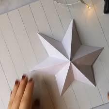 Neu 24 Bilder Stern Basteln Papier Einfach