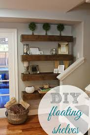 Wall Shelving Ideas For Living Room simply organized simple diy floating shelves tutorial decor 4501 by uwakikaiketsu.us