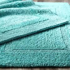 reversible bathroom rugs reversible cotton turquoise bath rug kohls sonoma reversible bath rug