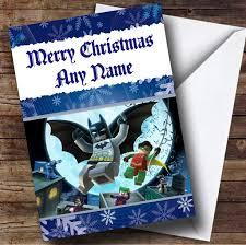 Lego Batman Reward Chart Lego Batman Blue Personalised Christmas Card