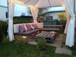 tent furniture. the lights underneath outdoor pallet furniture ideas creative backyard patio white tent colorful cushion