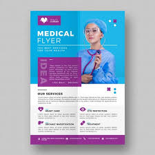 Blue Medical Flyer Template Template For Free Download On