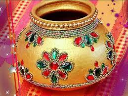 Designer Marriage Pot /Garika muntha Decoration : Marriage items ||  Kothadanam || Navya