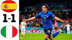 ملخص مباراة إيطاليا و إسبانيا (1-1 ) مباراة مجنون - YouTube