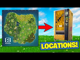 Vending Machine Near Me Stunning ALL VENDING MACHINE LOCATIONS In Fortnite Battle Royale