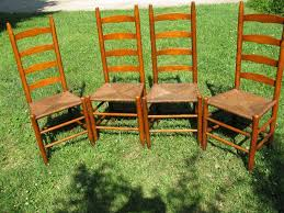 ideas of oak ladder back chairs with rush seats perfect antique ladder back chairs with rush seats