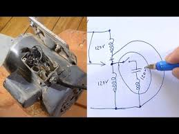 motor from 240 volts to 120 volts 120 240 Volt Motor Wiring Diagram 240V Thermostat Wiring Diagram