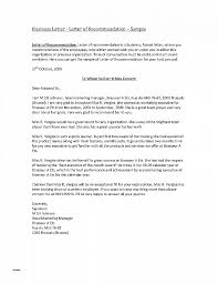 Letter Of Recommendation Template Doc Letter Of Recommendation
