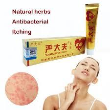Натурален крем ЯнДайФуРуГао ( yiganerjing ) против псориазис | дерматит |  екзема | сърбеж | лишей | обриви