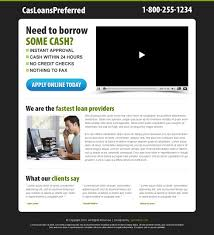 Video landing page design example for effective conversion ...