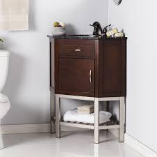 harper blvd karhold corner bath vanity sink w marble top