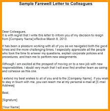 Farewell Letter Boss Principal Picture After Resignation New Sample ...