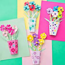 Paper Flower Punches How To Make 3d Paper Flower Bouquets With Video