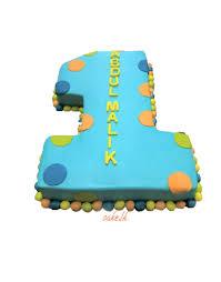 Number 1 Birthday Cake Designs Number 1 Birthday Cake 2kg