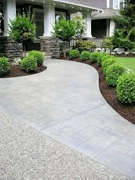 4 classic boxwood edged pathway