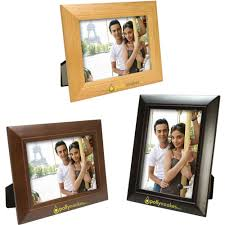 5 x 7 wood frame for promotion