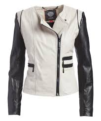 all gone clay black collarless asymmetrical zip leather moto jacket