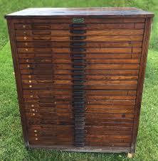 reclaimed hamilton letterpress cabinet printers cabinet mid century cabinet industrial storage cabinet