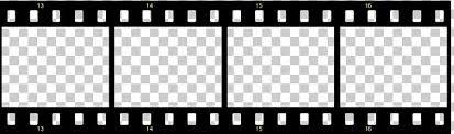 Filmstrip Template Photographic Film Movies Borders S