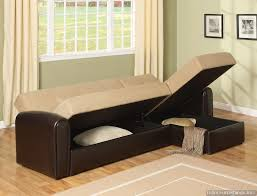sectional sleeper sofa bed with storage