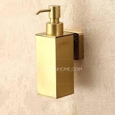 bathroom soap dispensers hand soap dispenser wall mounted